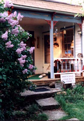 porch of the 1867 Farmhouse